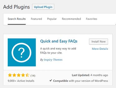 Install WordPress FAQ