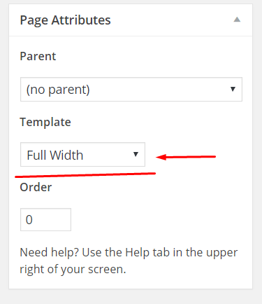 full-width-template