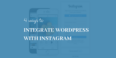 integrate WordPress with Instagram