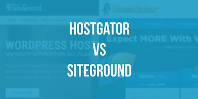 HostGator vs Siteground