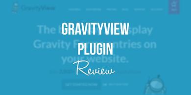gravityview plugin review