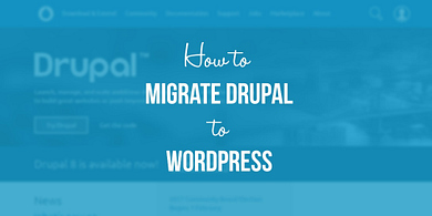 migrate Drupal to WordPress