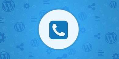 add a call now button to WordPress