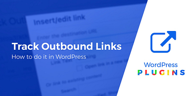 track outbound links in WordPress