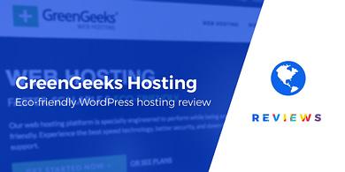 GreenGeeks review for WordPress