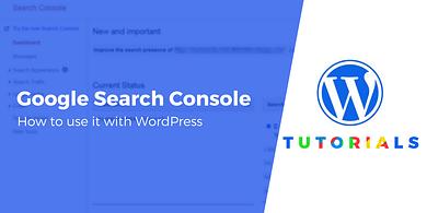 Google Search Console + WordPress