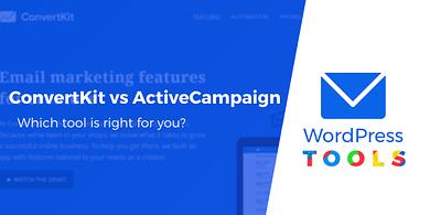 ConvertKit vs ActiveCampaign