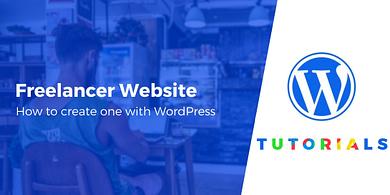 freelance wordpress website