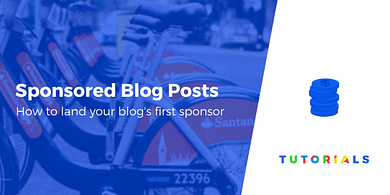 sponsored blog posts