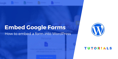 Embed Google Form into WordPress