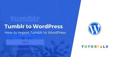 How to Import Tumblr to WordPress