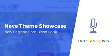 New England Cord Blood Bank Neve theme showcase