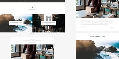 Zillah wordpress theme