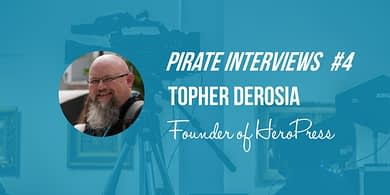 Topher DeRosia interview