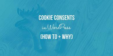 Cookie Consents WordPress