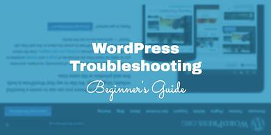 Beginner's Guide to WordPress Troubleshooting