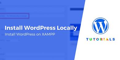 install WordPress locally on XAMPP