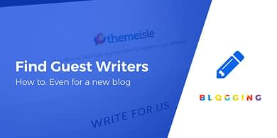 find guest writers