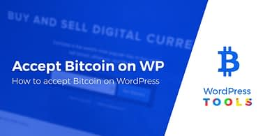 How toaccept Bitcoin on WordPress