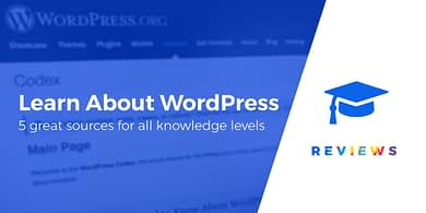 learn about WordPress