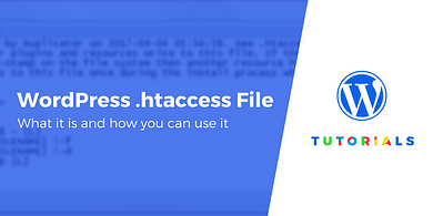 htaccess file in wordpress