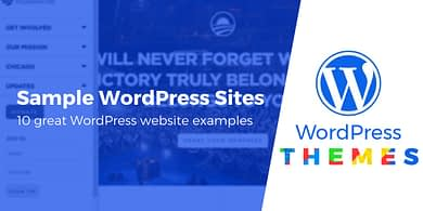 Sample WordPress Sites