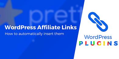 WordPress affiliate links