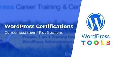 WordPress Certifications