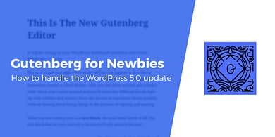 Gutenberg for Newbies