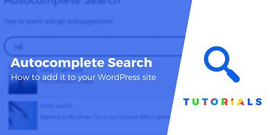 WordPress Autocomplete