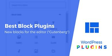 best block plugins for WordPress