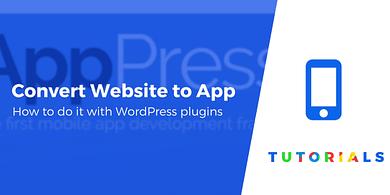 Convert website to app