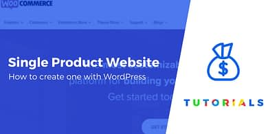 Single Product Website
