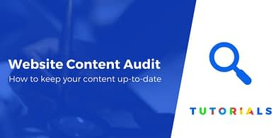 Website Content Audit