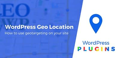 WordPress geo location