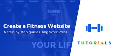 Create a Fitness Website