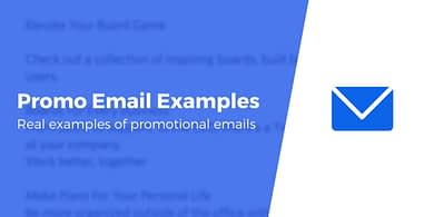 Promotional Email Examples