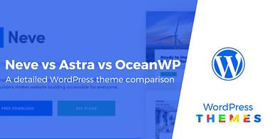 Neve vs Astra vs OceanWP