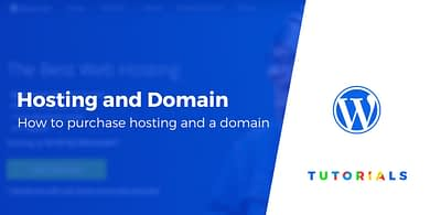 How to buy hosting and a domain name