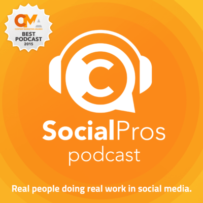 The Social Pros podcast is a great tool for anyone looking for tips