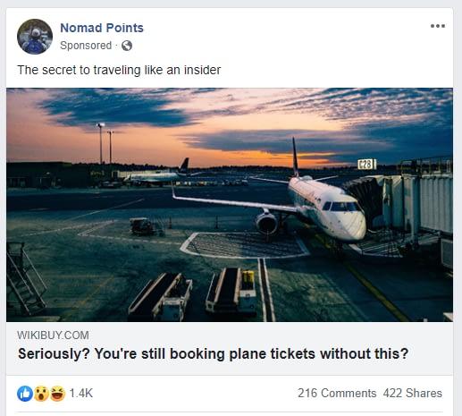 nomad points - Facebook Ads guide