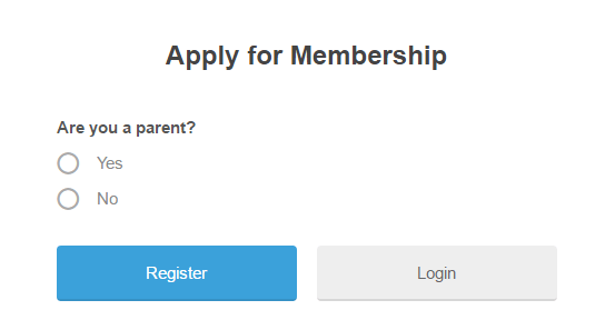 A unique example of a WordPress registration page.