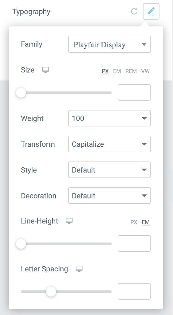 changer la typographie de vos pages de produits WooCommerce