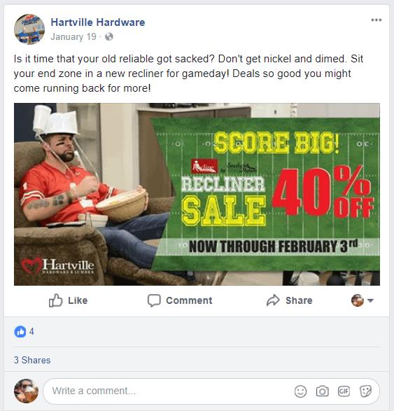 hartville hardware facebook post
