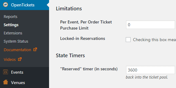 An example of a WooCommerce extension for selling tickets online.