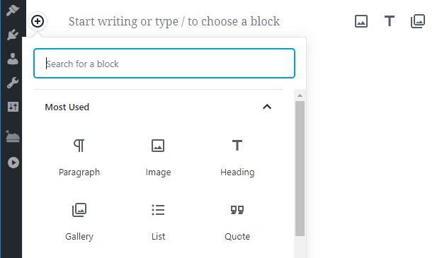 Placing blocks using the editor.