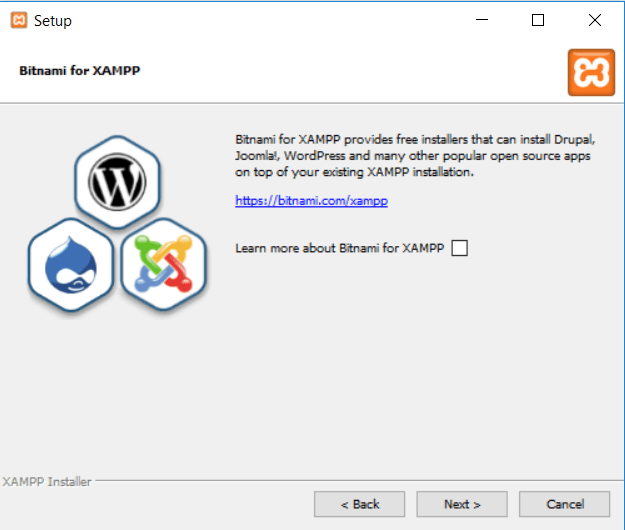 how to install XAMPP and WordPress on windows
