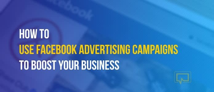 Facebook advertising campaigns