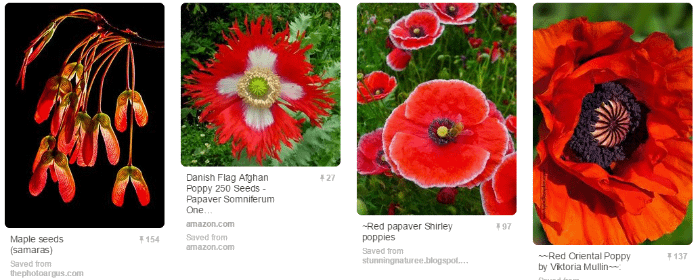 Best colors for Pinterest images