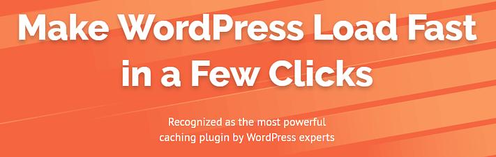 WP Roket eklentisi WordPress için sahip olması gereken eklentilerden biridir.